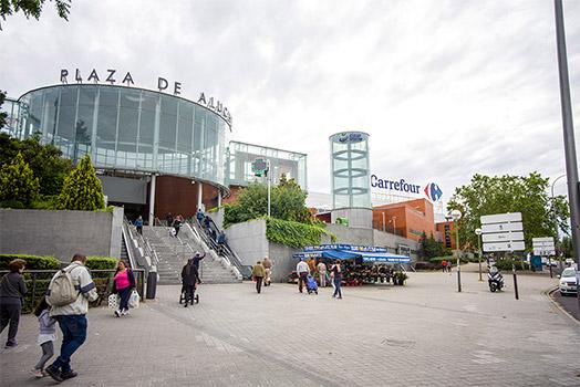 exterior frontal plaza aluche