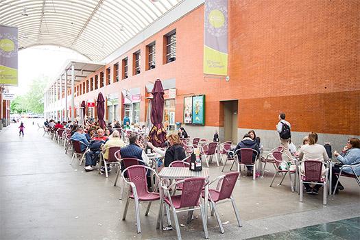 terraza plaza aluche
