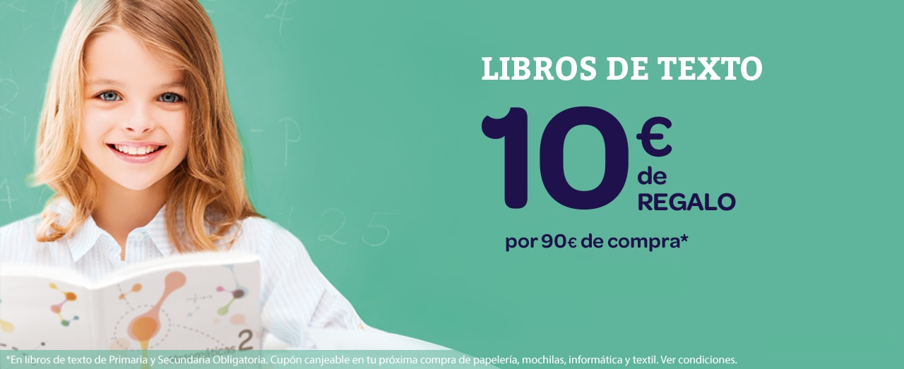 Compra los libros de texto de tus peques en Carrefour
