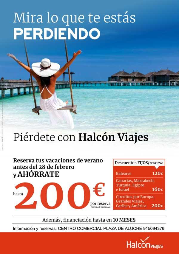 Piérdete con Halcón Viajes