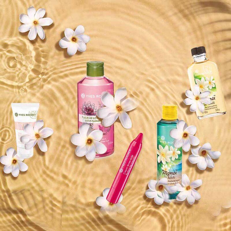Tus productos de verano en Yves Rocher