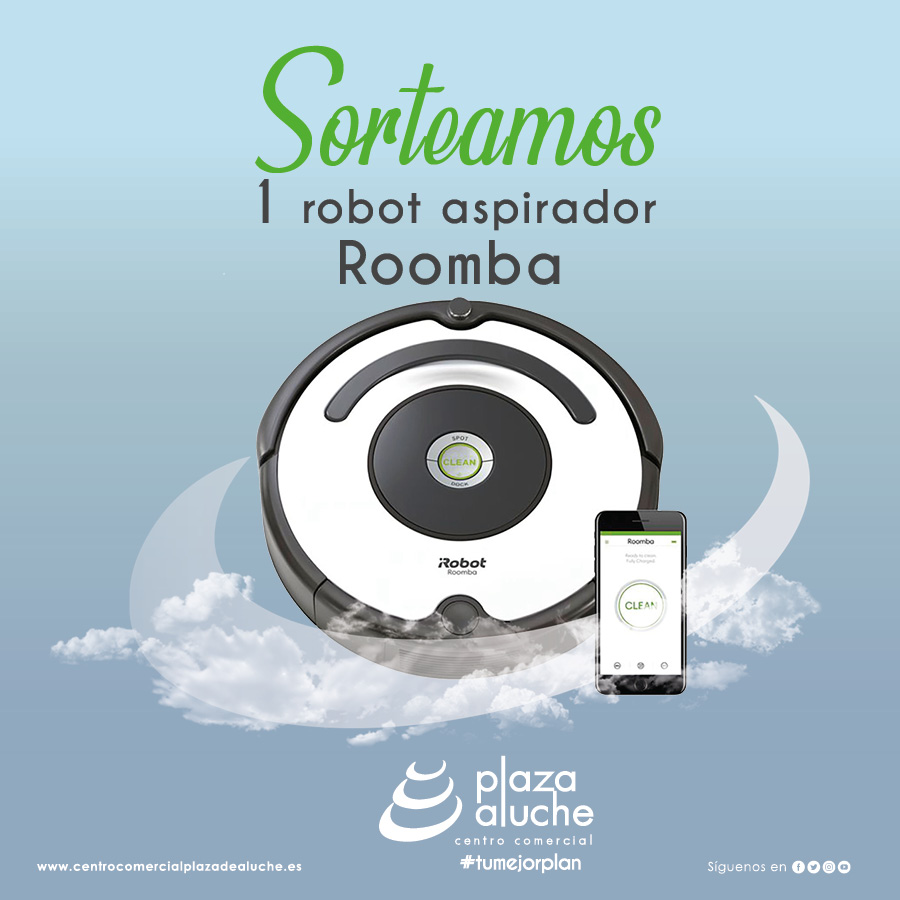 Sorteamos un robot aspiradora Roomba