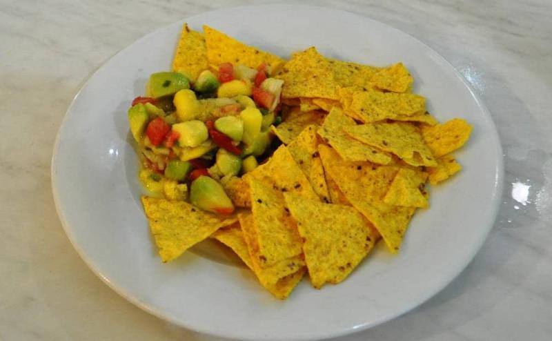 Ensalada mango aguacate